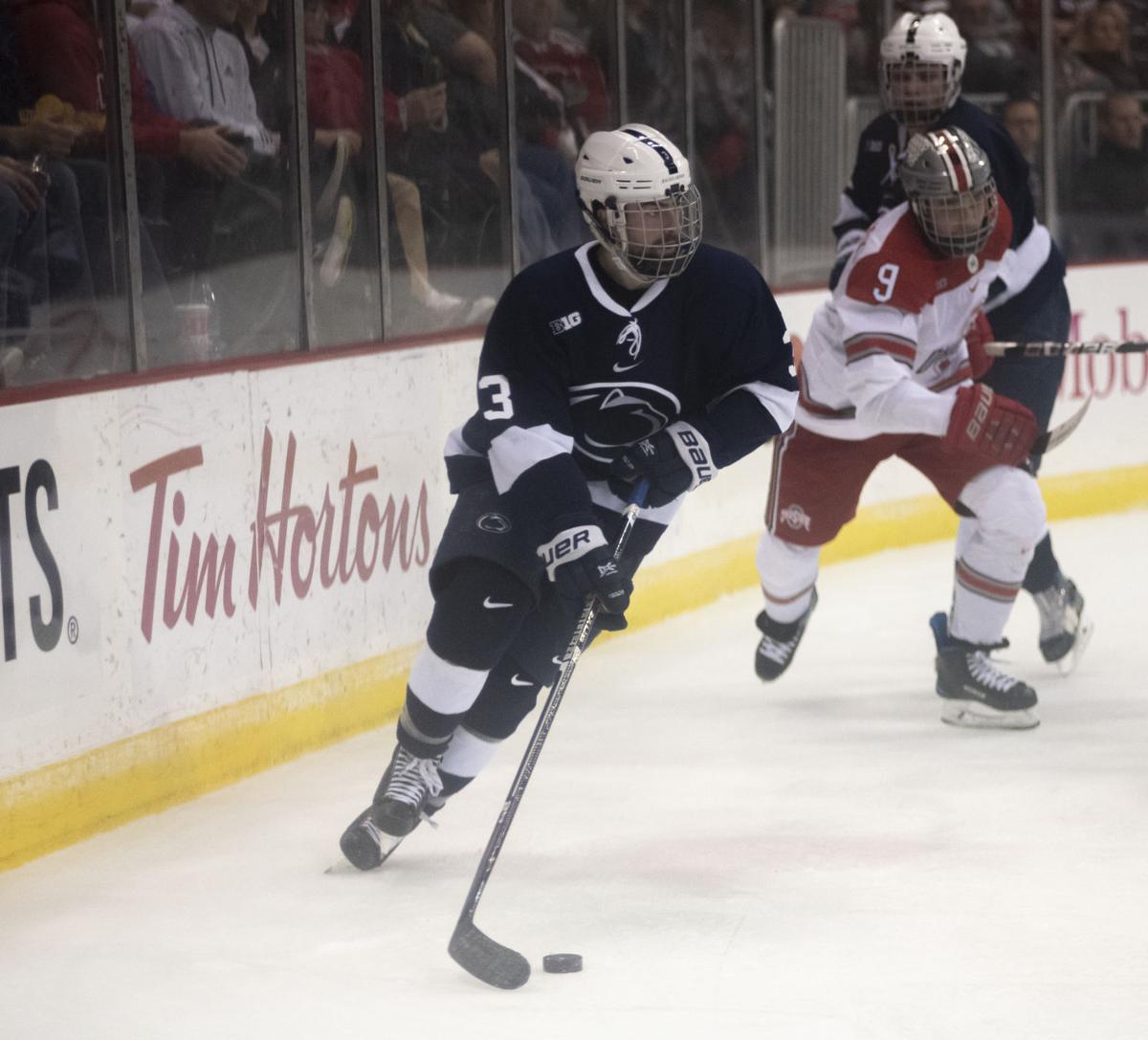Big Ten Men's Ice Hockey Tournament Semifinals vs. Ohio State, DeNaples (3)