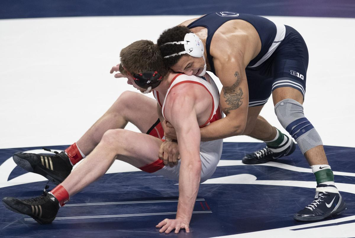 Penn State Big Ten Wrestling Championship (Brooks)