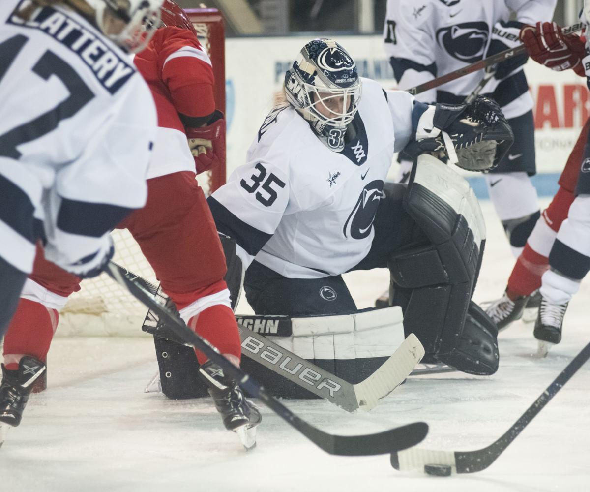 Women's Hockey vs Cornell, Brenneman (35)