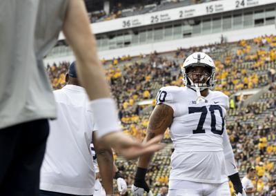 Penn State football vs. Iowa, Scruggs (70)