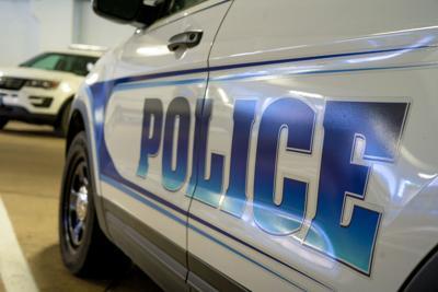 Police Car Logo Closeup