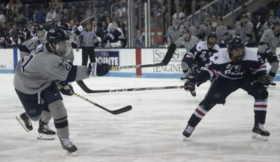 Men's Hockey vs. Robert Morris, Wall (21)