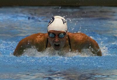 Penn State Swimming and Diving vs. Liberty and St. Bonaventure, Brooke Matthias