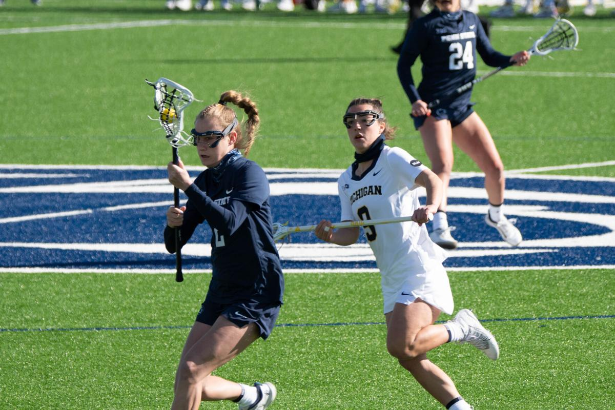 Penn State WLAX vs Michigan, Dupcak (2)