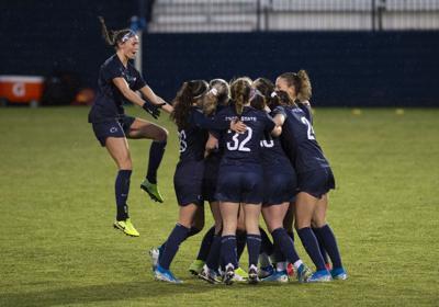 Penn State Women's Soccer vs. Minnesota, Celebration