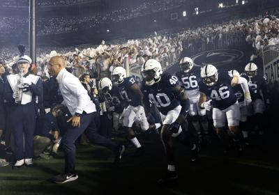 Penn State football vs. Indiana, team entrance