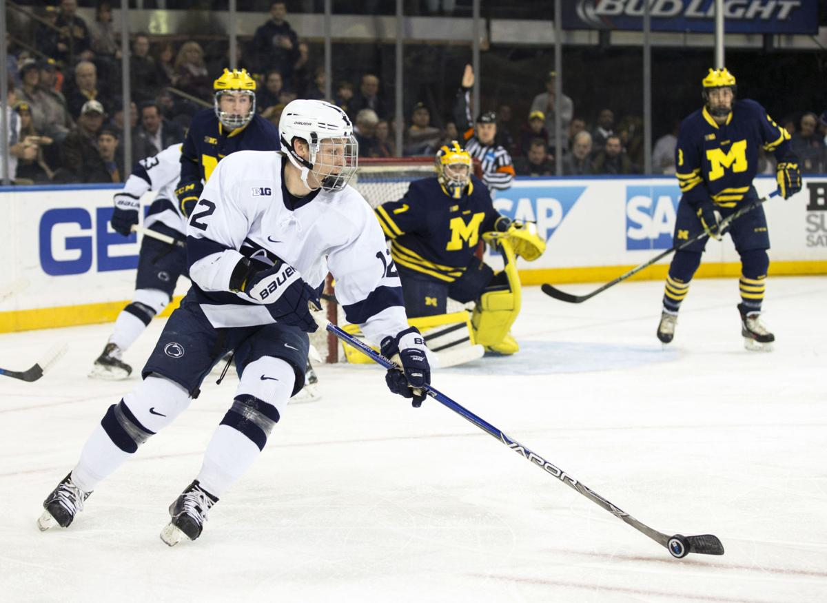 Penn State Men S Hockey Team Opens Up Conference Schedule