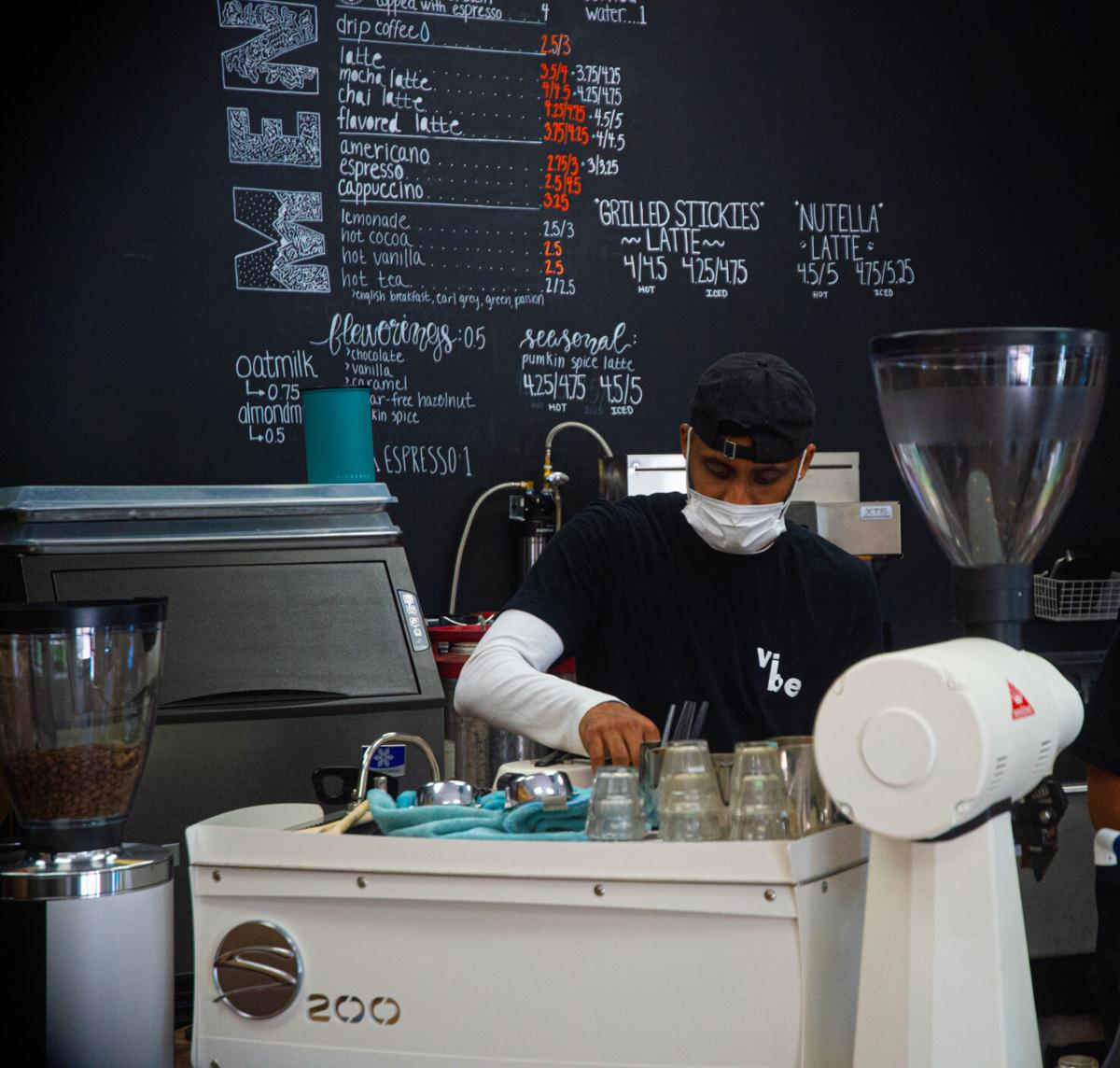Vibe Coffee, barista