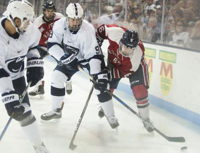 How Liam Folkes  role reversal sparked the rise of a new freshman group for Penn  State men s hockey 48b3acf29