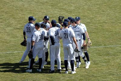 PSU Baseball vs. Maryland 3/21, outfielders