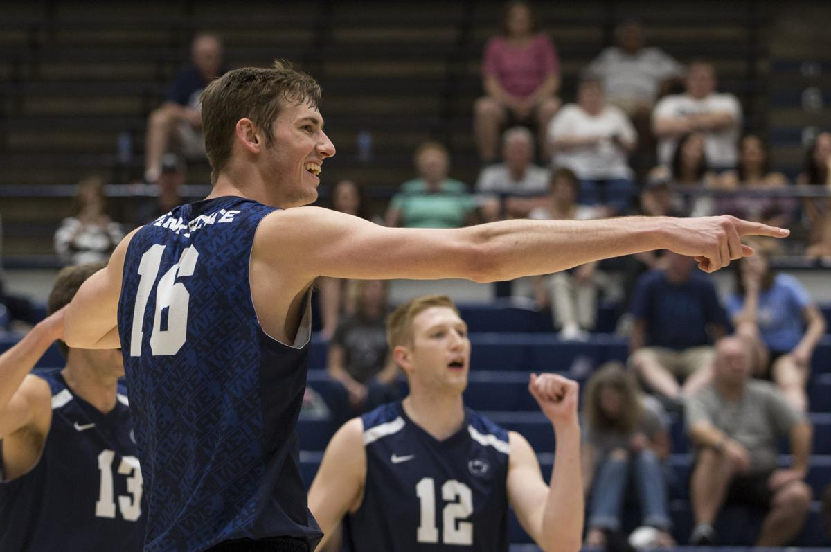 Penn State Men S Volleyball Falls Short Of Eiva Repeat In Conference Semifinal Loss Penn State Volleyball News Daily Collegian Collegian Psu Edu