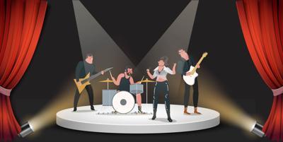 musicians graphic
