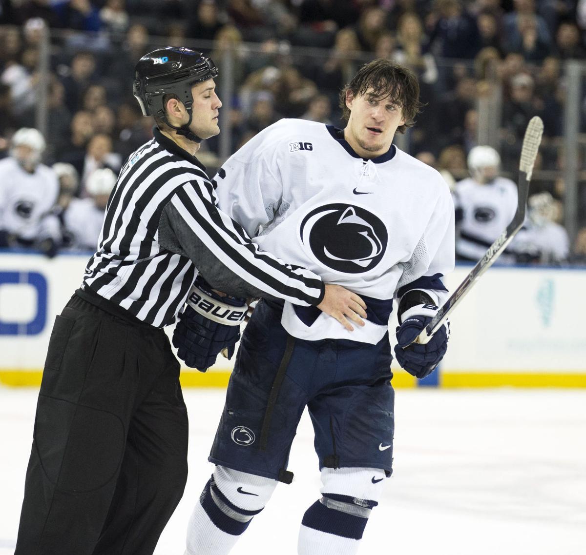 Penn State men's hockey leading scorer Andrew Sturtz to ...