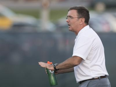 Men's Soccer vs. UCF: Coach Jeff Cook