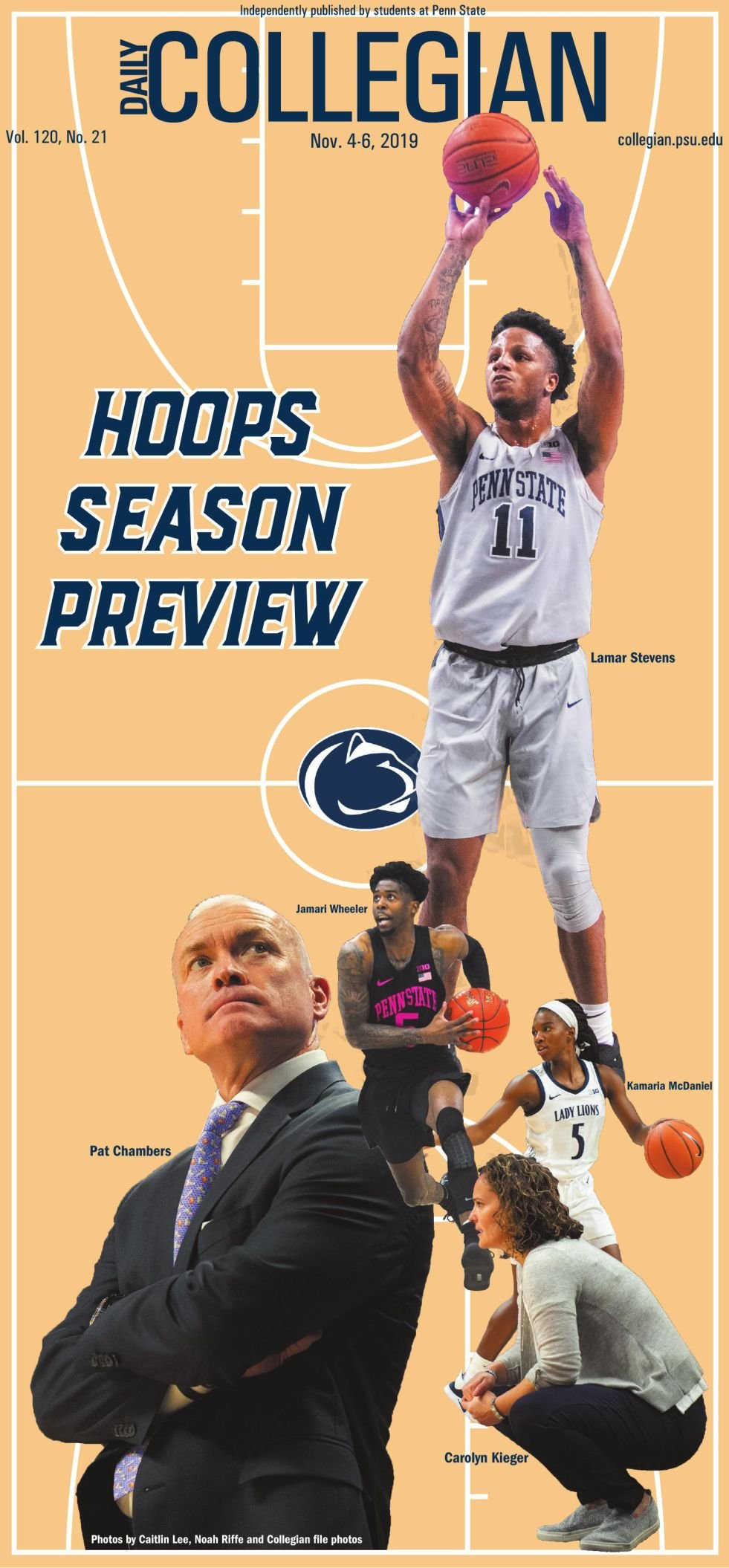 The Daily Collegian for Nov. 4, 2019