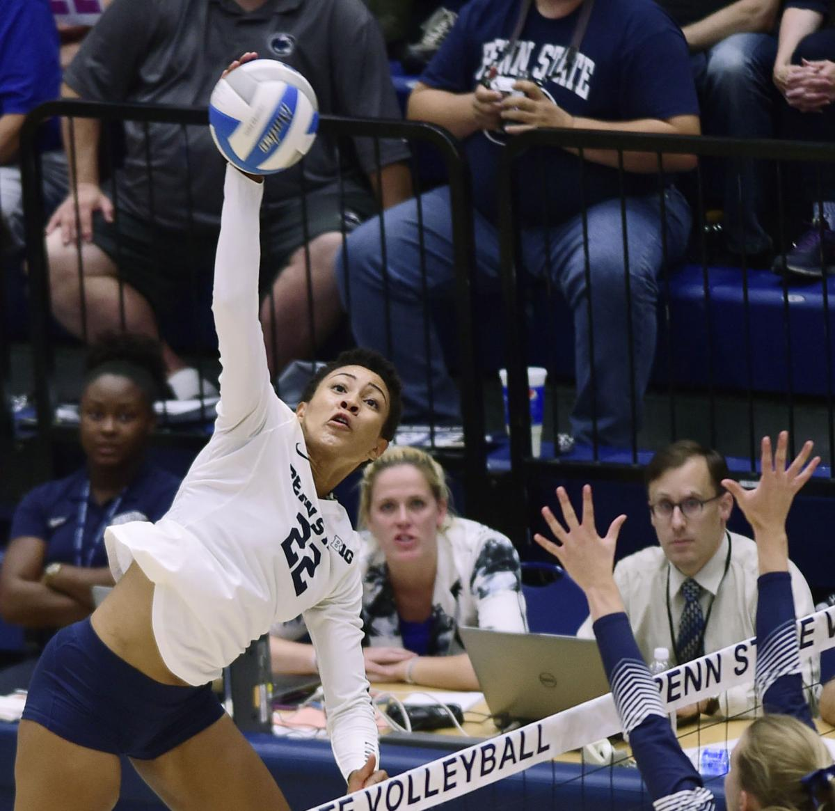 Haleigh Washington (15) ,womens volleyball, Yale