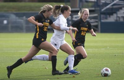 Women's Soccer vs Iowa, Coffey (17)
