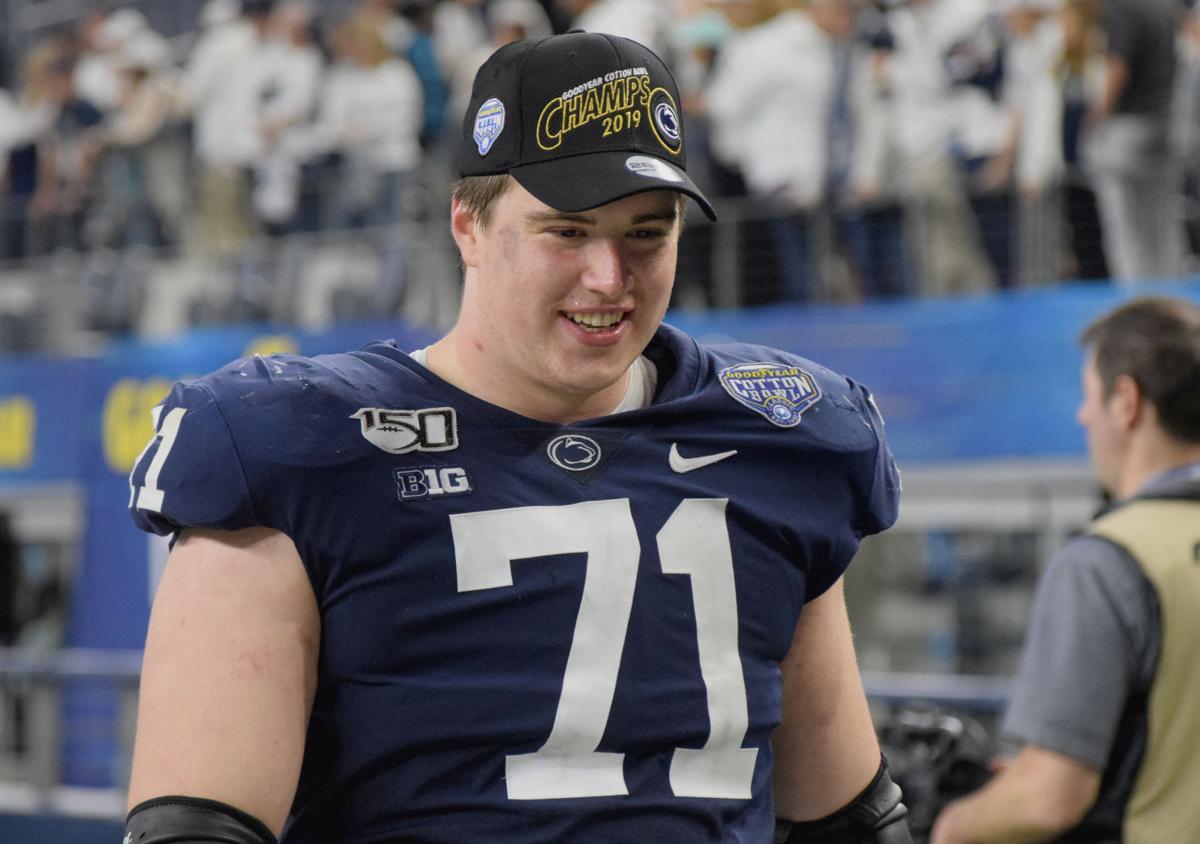 Penn State Cotton Bowl celebration, Will Fries (71)