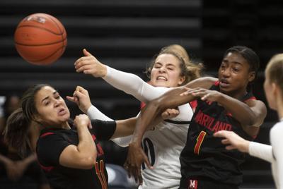 Penn State Women's Basketball vs Maryland, Sabel (10)