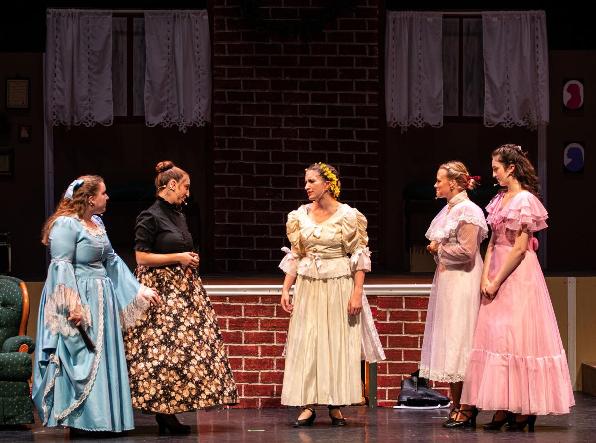 Marley Bradner performs as Jo March during Penn State Thespians' 'Little Women' production