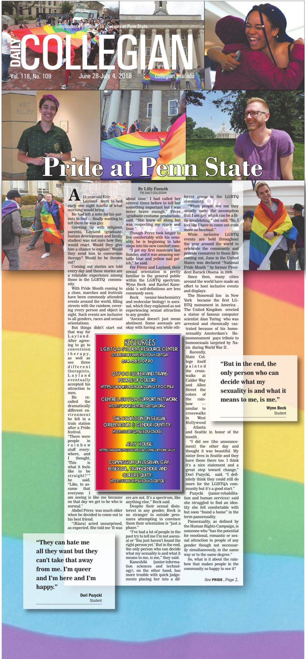 The Daily Collegian for June 28, 2018