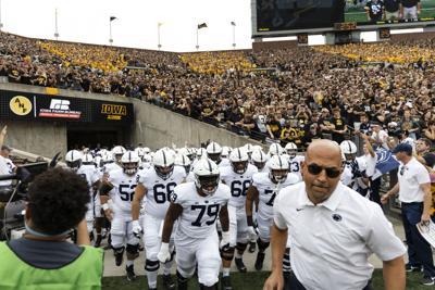 Penn State football vs. Iowa, team entrance