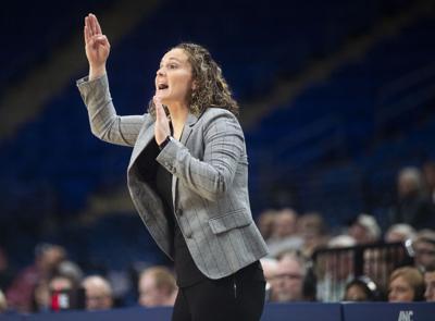 Women's Basketball vs Fordham, Coach Kieger