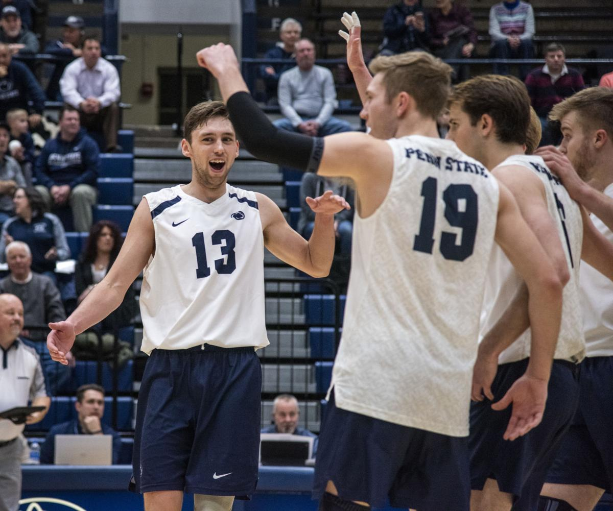 Penn State S Men S Volleyball Is Inspired By Highly Renowned Women S Team Penn State Volleyball News Daily Collegian Collegian Psu Edu
