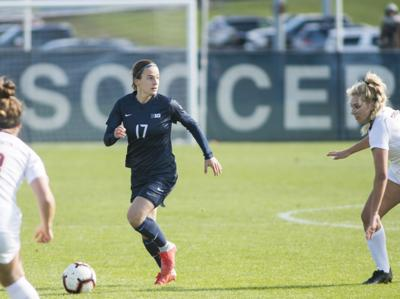 Full circle  Penn State women s soccer s Alina Ortega Jurado had a fitting  end to one of her final games 97e3c0651