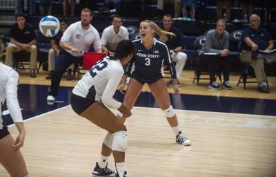 Women's Volleyball vs. Hofstra, White (3)