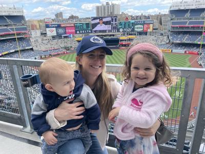 Ashley Bisman and children