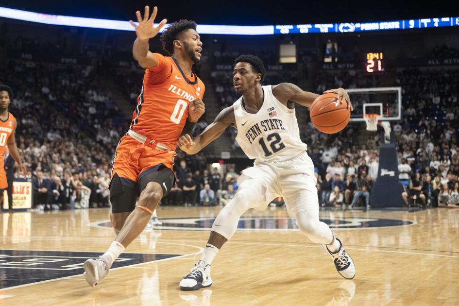 Penn State men's basketball falls to Illinois, ending eight-game winning streak