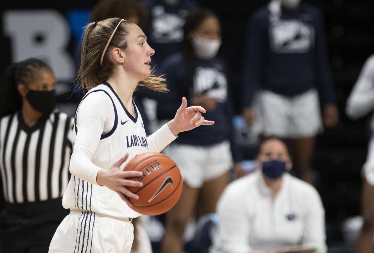 Penn State Women's Basketball vs Maryland, Jekot (25)