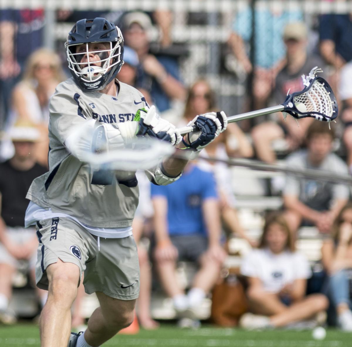 No. 14 Penn State men's lacrosse Spillane (13) upsets No. 5 Johns Hopkins