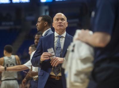 Penn State Men's Basketball vs. Illinois, Patrick Chambers