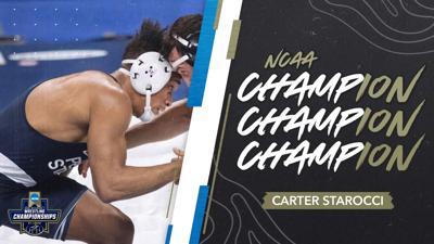 NCAA Wrestling Championships 2021, Carter Starocci