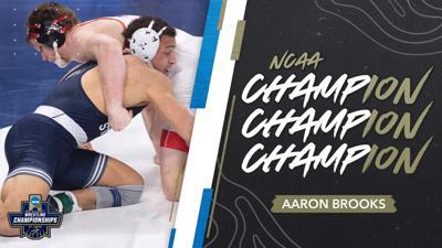 NCAA Wrestling Championships 2021, Aaron Brooks