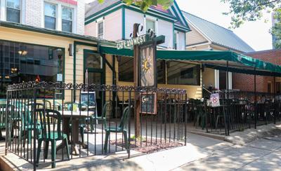 Cafe 210 West, outside