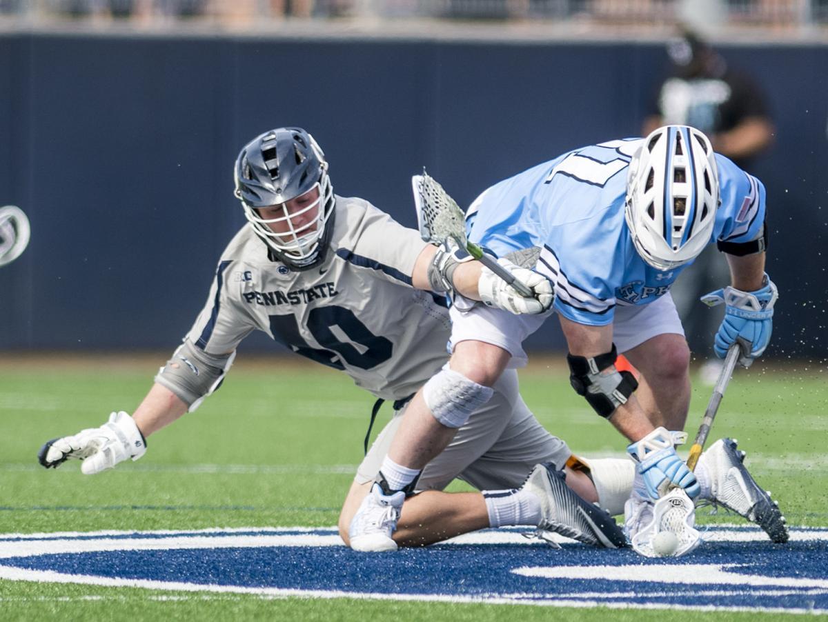 No. 14 Penn State men's lacrosse Arceri (40) upsets No. 5 Johns Hopkins