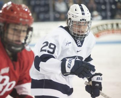 Women's hockey vs. RPI, Weiss (29)