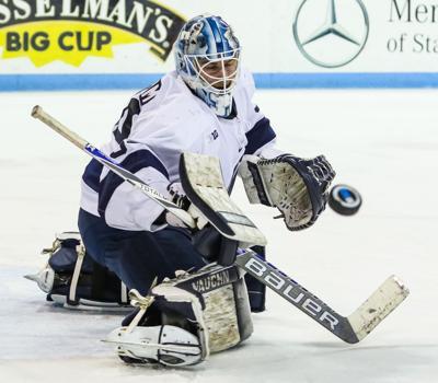Former Penn State men s hockey goaltender Eamon McAdam starts from scratch  with the Islanders 32e00aa2f