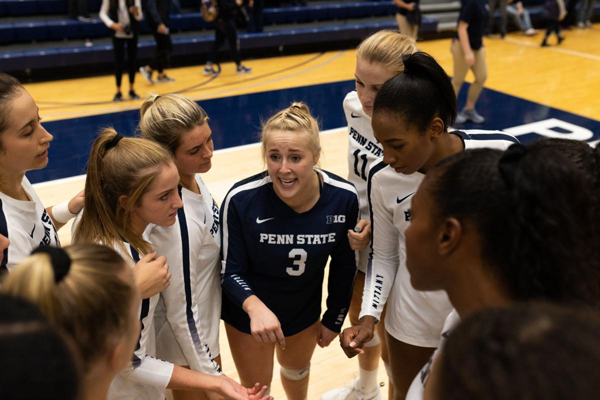 Penn State Women S Volleyball S Kendall White Brings Her Winning Mentality To The Court Penn State Volleyball News Daily Collegian Collegian Psu Edu