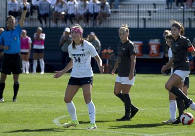 Penn State women's soccer vs. Ohio State, Schlegel (34)