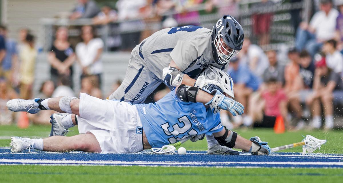 No. 14 Penn State men's lacrosse Arceri (40) vs. No. 5 Johns Hopkins
