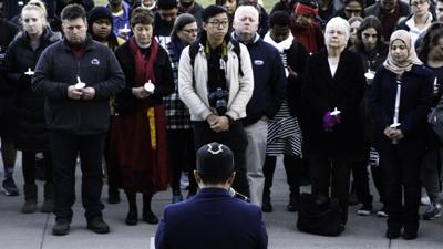 Penn State Community Hosts Vigil in Honor of Victims of Shooting in Christchurch, New Zealand.
