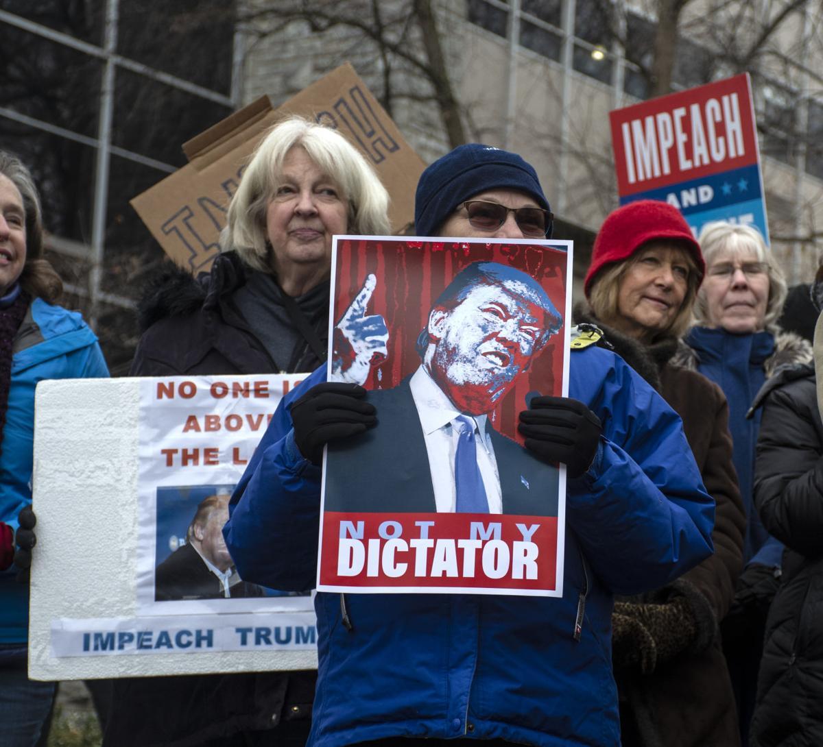 Trump impeachment rally