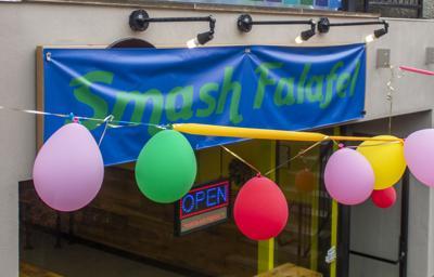 Smash Falafel grand opening