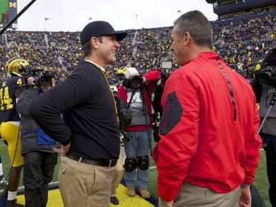 How has Michigan fared in big games under Jim Harbaugh?