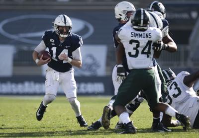 Penn State Football vs MSU, Clifford (14) carry
