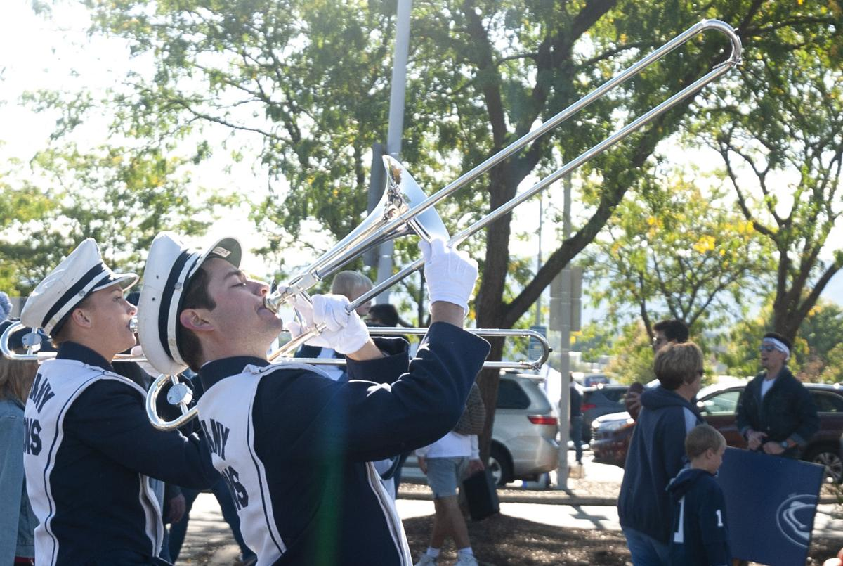 Penn State Tailgate Purdue Game, Blue Band